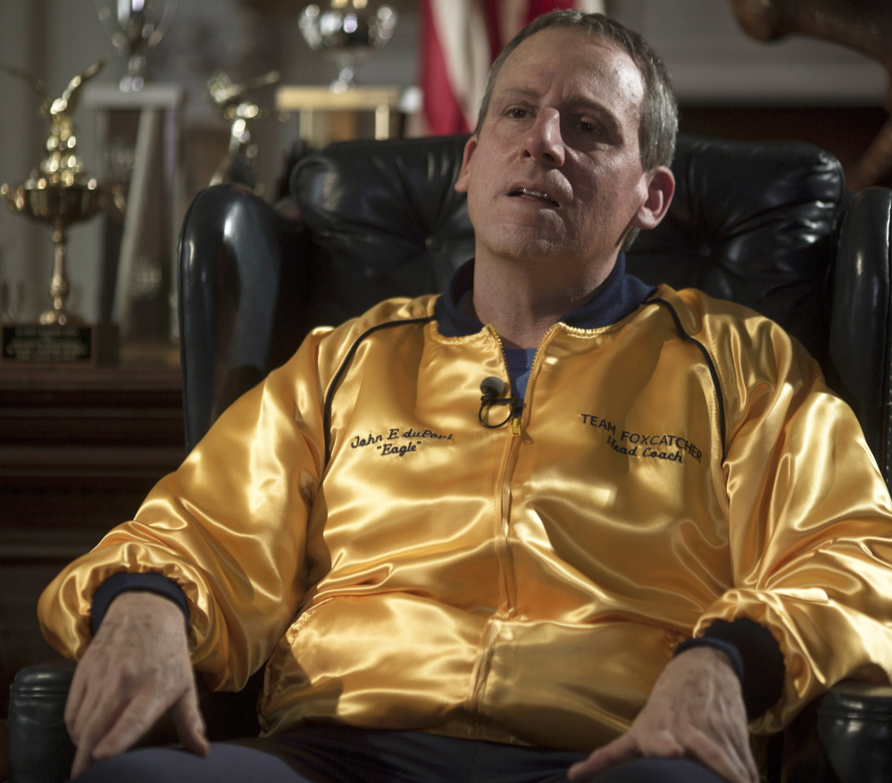 """Steve Carell in """"Foxcatcher."""""""