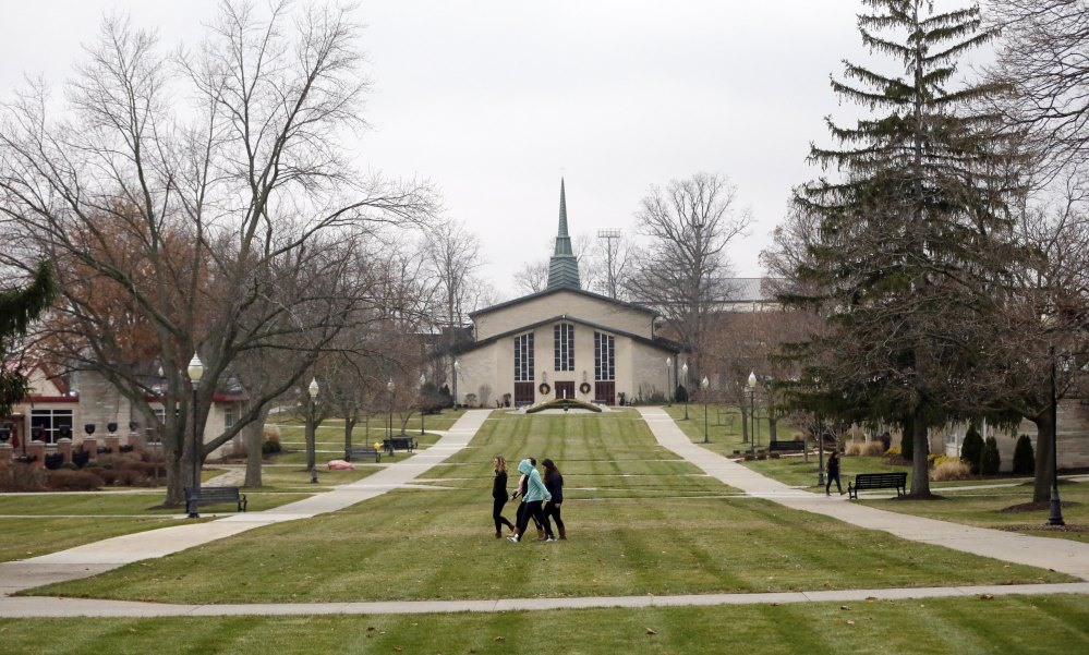 Small private Adrian College in Michigan has a deal: Make at least $37,000 a year after graduating or the school will pay all or part of your loans. The college has taken out insurance costing about $1,100 for each student so it can do that.