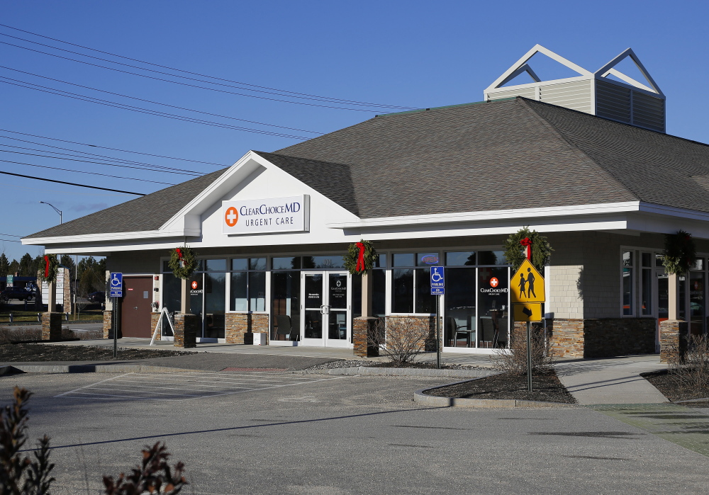 It was quiet Friday at ClearChoiceMD Urgent Care on Payne Road in Scarborough as the medical staff waited for word to get around that the walk-in clinic had just opened. The staff hopes to eventually treat an average of 30 patients a day.