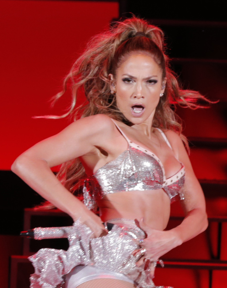 """Jennifer Lopez's 2012  film, """"Dance Again,"""" includes backstage footage. It airs at 9 p.m. Wednesday."""