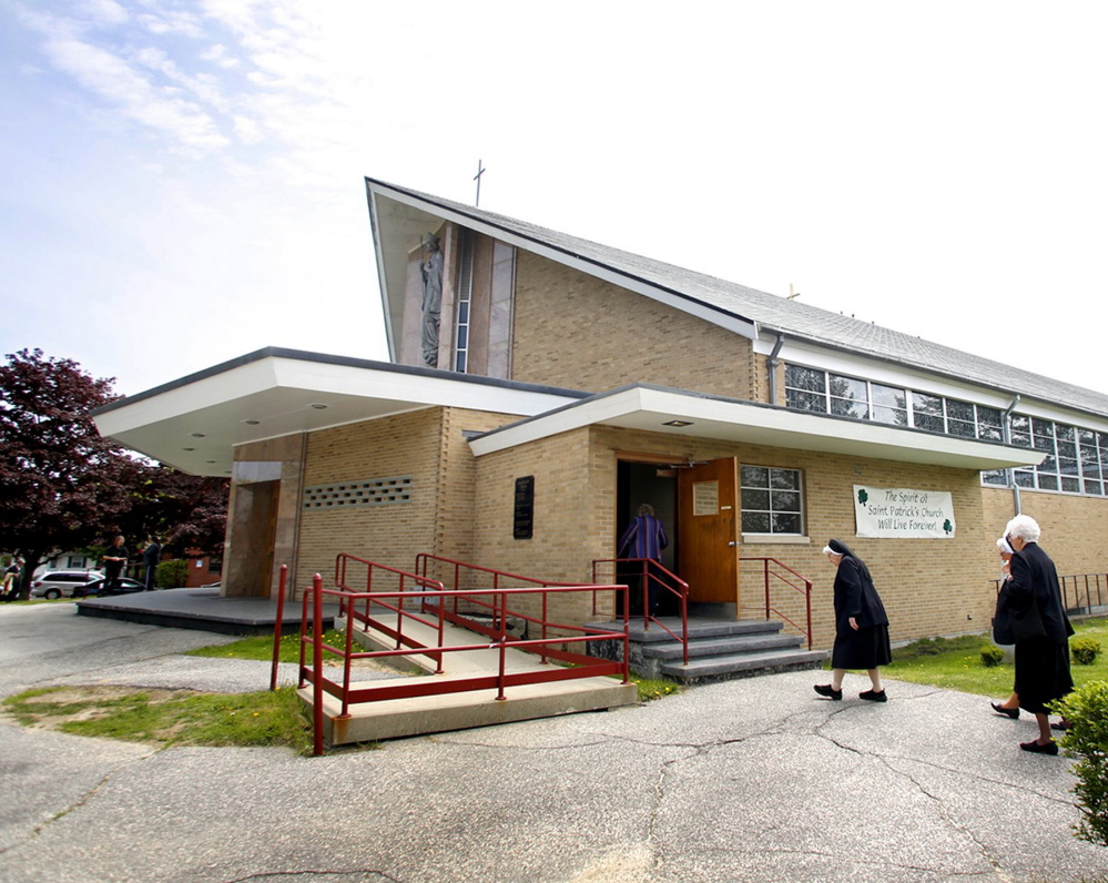 The building replacing St. Patrick Catholic Church will have meeting space, a preschool and after-school programs.
