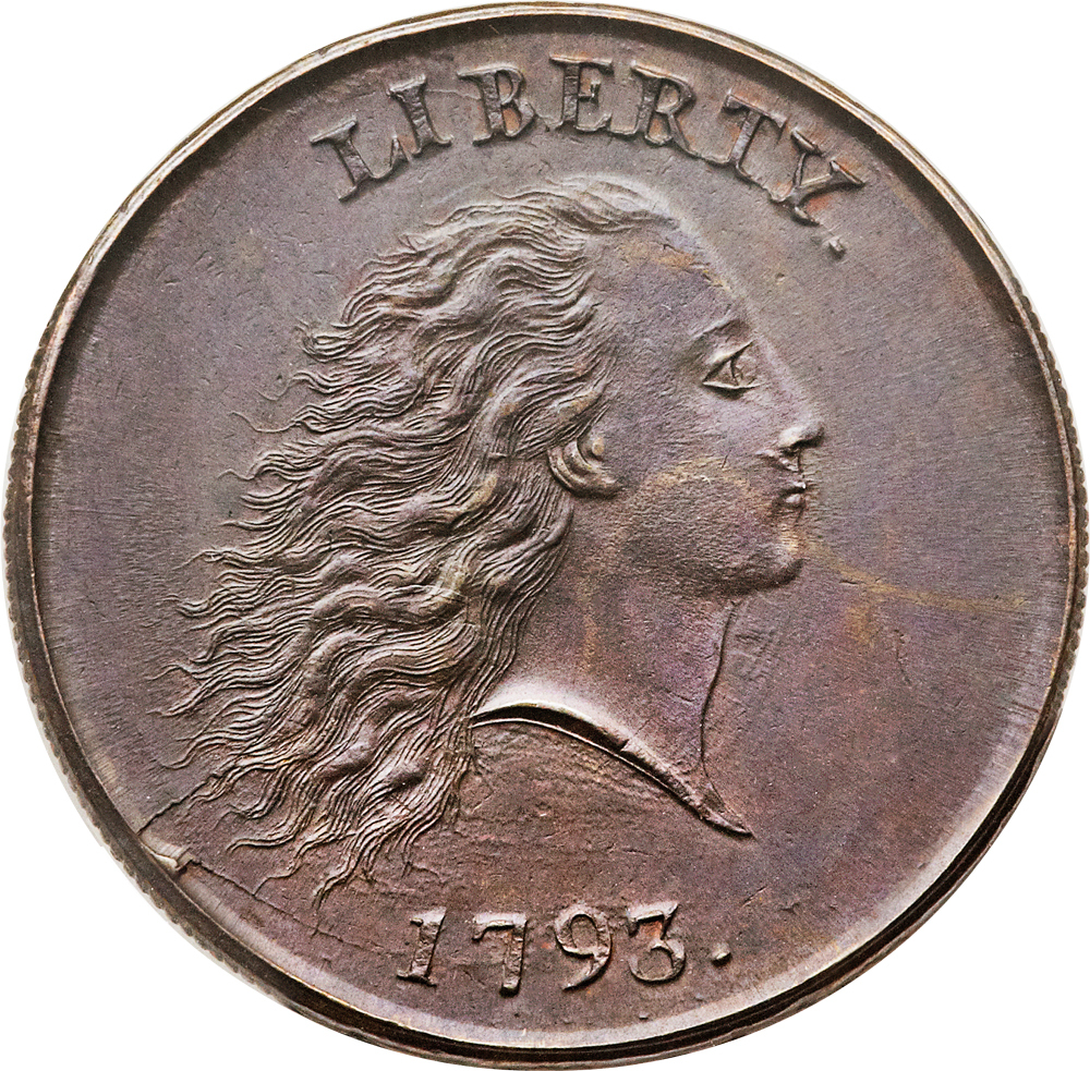"""The """"chain cent"""" dates from 1793."""