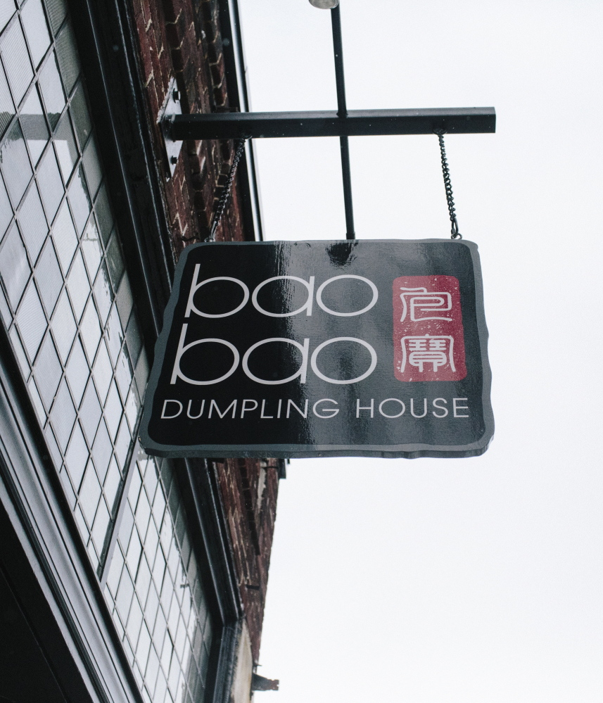 Bao Bao dumpling restaurant in Portland, photographer in 2015, plans to change to a no-tipping policy. Whitney Hayward/Staff Photographer