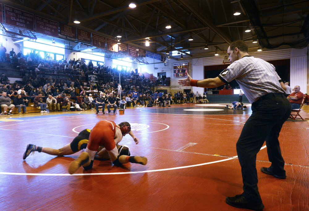 It's the moment, that big moment, that feeling of you-and-I-and-may-the-best-wrestler-win that makes the sport so alluring. But to get to that moment, wrestlers must ready their bodies and now, much more than the past, it's happening in a healthy manner.