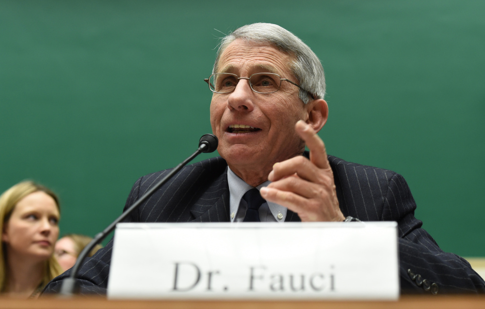 """Dr. Anthony Fauci, infectious disease chief at the National Institutes of Health, praised the measles vaccine as a """"slam-dunk."""" That is not the case with this year's flu vaccine."""