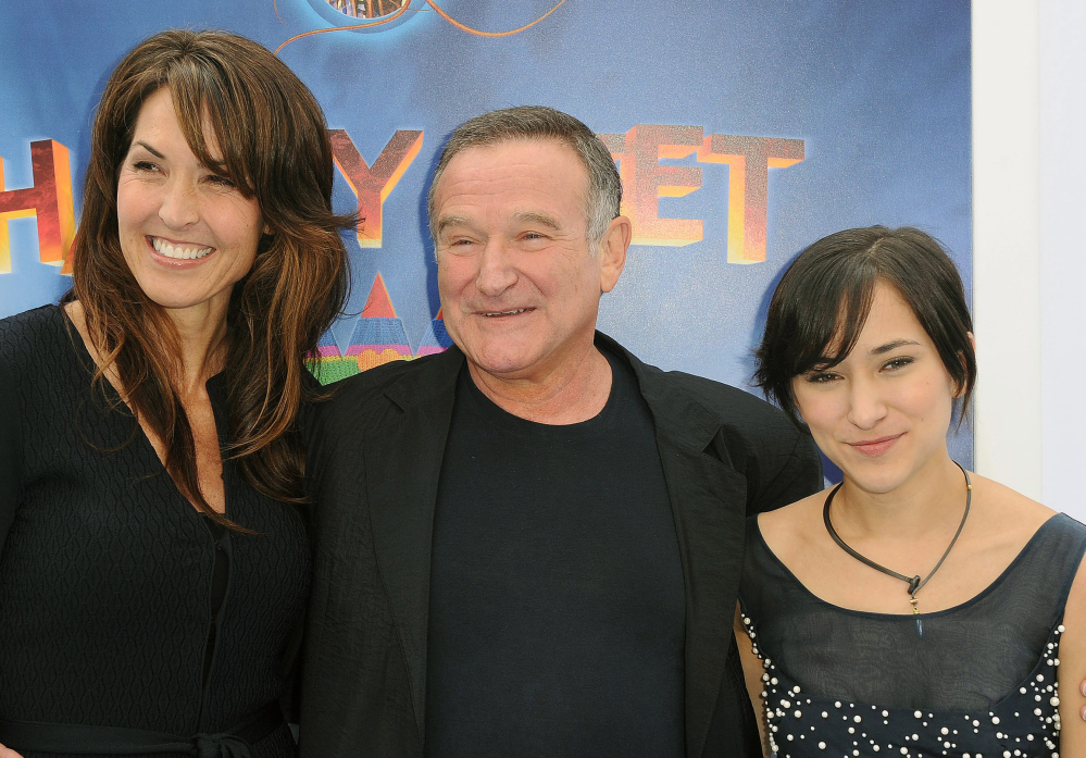 Susan Williams, left, faces a court fight with Zelda Williams, right, and Robin Williams' two other children over the actor's estate.
