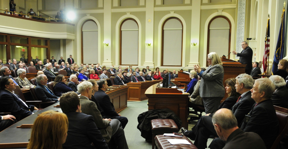 Gov. LePage gives the State of the State address on Tuesday evening before a joint convention of the Legislature. For his ideas to fly, the governor is going to have to win over a lot of people in that audience.