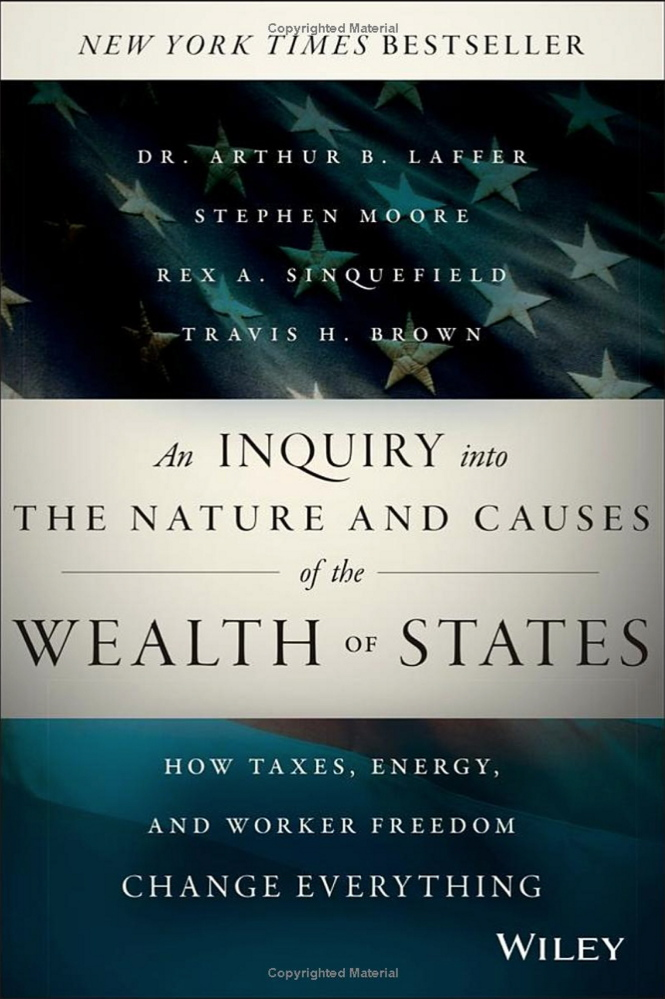 """Published in 2014, """"An Inquiry into the Nature and Causes of the Wealth of States"""" is influencing tax policy in states with GOP leaders."""