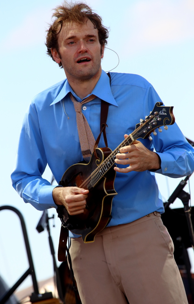 "Chris Thile of the band Punch Brothers will host ""A Prairie Home Companion"" Saturday and Feb. 14."