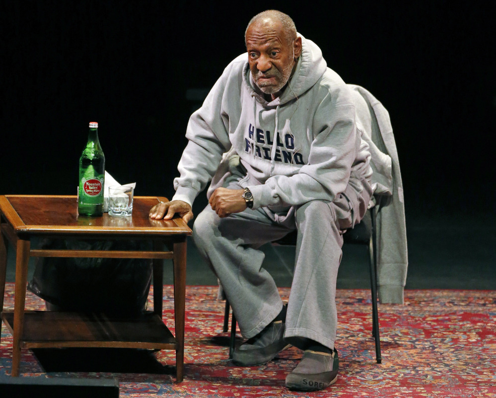 Comedian Bill Cosby canceled performances at Boston's Wilbur Theater.