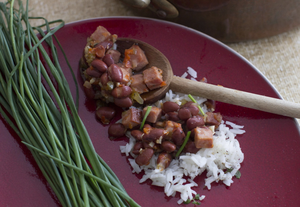 Red beans and rice together make a complete protein.