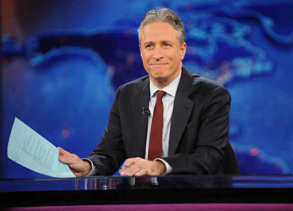 """Television host Jon Stewart, host of the popular """"The Daily Show With Jon Stewart"""" in New York, is leaving the show later this year."""