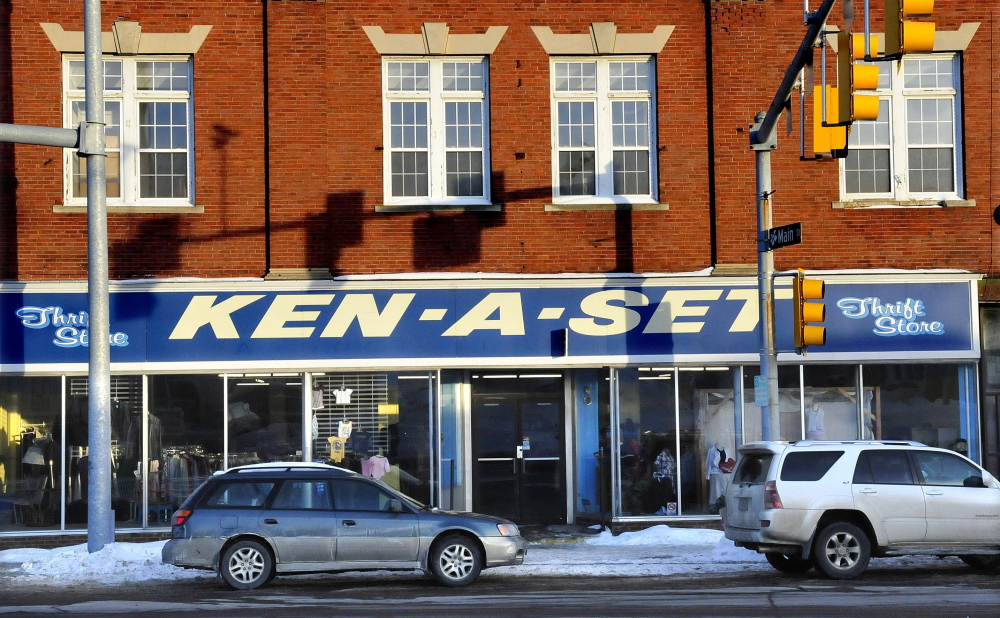 The Ken-A-Set store at 1 College Ave. in Waterville will close soon and exit a building built in 1900 and assessed at $225,000.