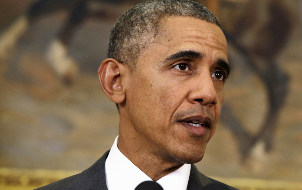 """President Obama: """"It is not the authorization of another ground war, like Afghanistan or Iraq."""""""