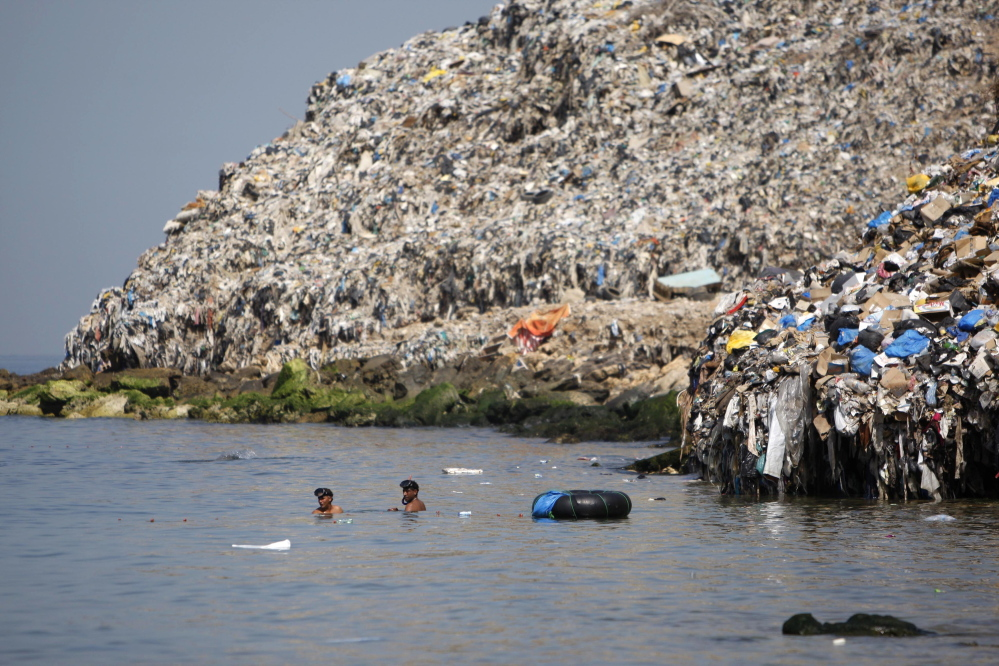 Although Asian countries deserve most blame for plastic debris in the ocean, Lebanon's dumps by the Mediterranean Sea have also despoiled vast amounts of saltwater.