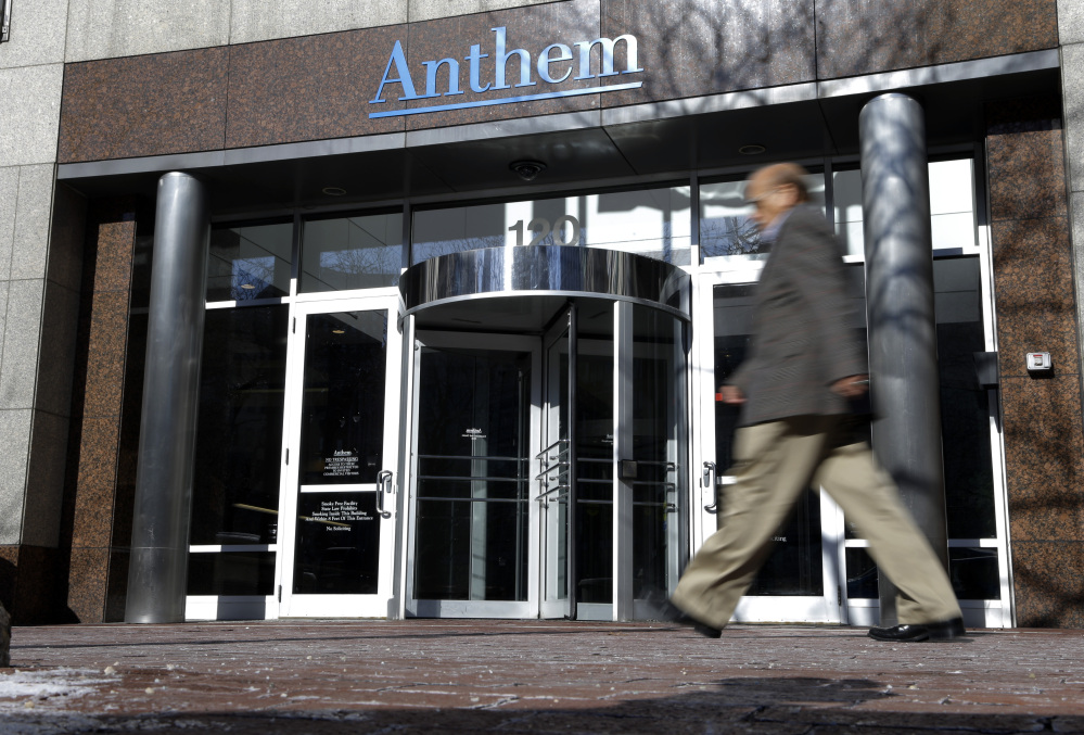 Hackers broke into Anthem's database storing information for about 80 million people in an attack bound to stoke fears many Americans have about the privacy of their most sensitive information. The Associated Press