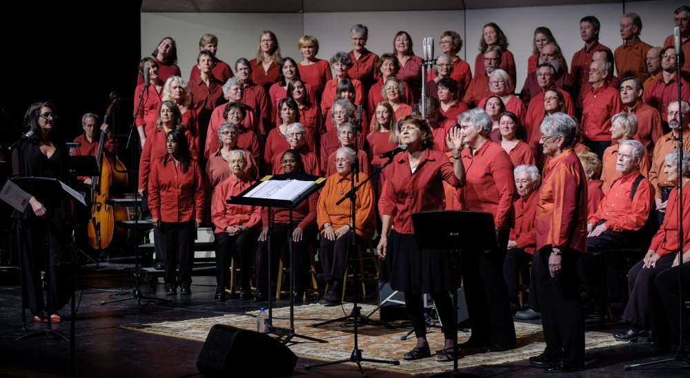 The Midcoast Community Chorus invites singers age 12 and up to join, beginning Monday at the John Street United Methodist Church in Camden.