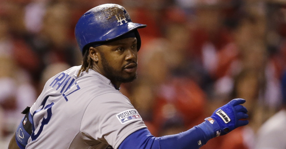 The Red Sox are paying former shortstop Hanley Ramirez $88 million to play left field.