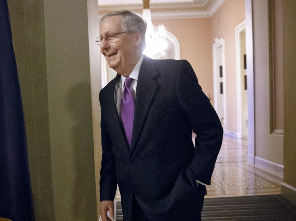 Senate Majority Leader Mitch McConnell, R-Ky., has failed three times to advance a bill that would force President Obama to abandon action on immigration.