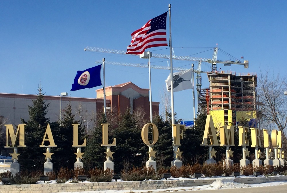 The Mall of America in Bloomington, Minn., was specifically mentioned in a video released late Saturday, purportedly by Somalia's al-Qaida-linked rebels. A speaker on the video urges Muslims to attack shopping malls in North America, Britain and other Western countries. Shoppers at the Mall of America on Sunday seemed undeterred.