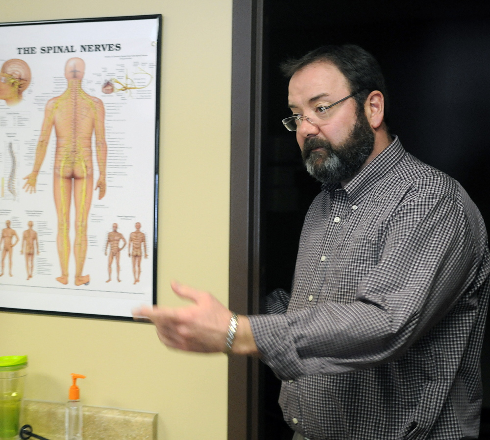 """Dr. Douglas Jorgensen opened the Maine Recovery Center in Manchester, where he and two other doctors will treat up to 300 addicts. """"We opened this up because we felt there was a need not being addressed,"""" he says."""
