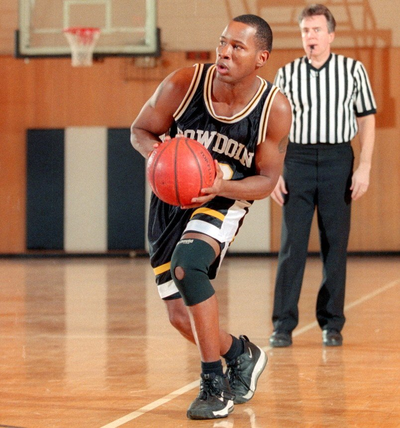 """Wil Smith played basketball at Bowdoin College. Bowdoin Coach Tim Gilbride described him as, """"hard-working, very team-oriented."""