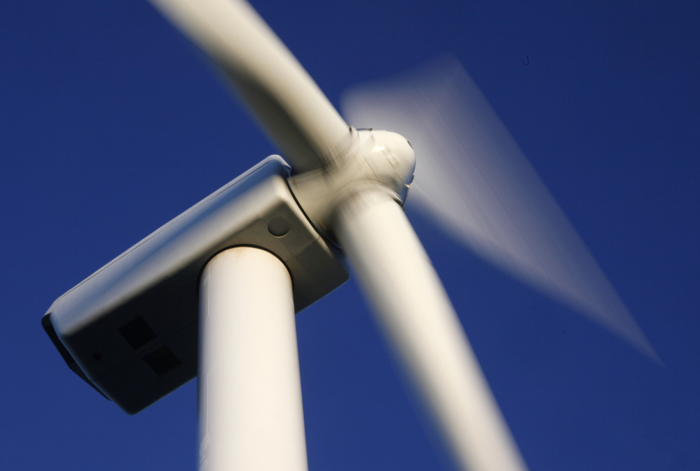 The Highland Wind project would build thirty-three 3.45-megawatt wind turbines in Somerset County's Highland Plantation.