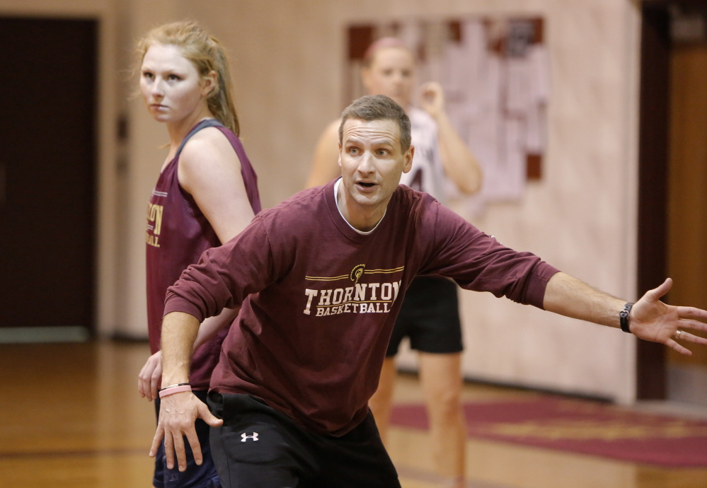 Thornton Academy Coach Eric Marston said one of the toughest things he's done is tell his players his wife had cancer. But as his in-season family, they had to know.