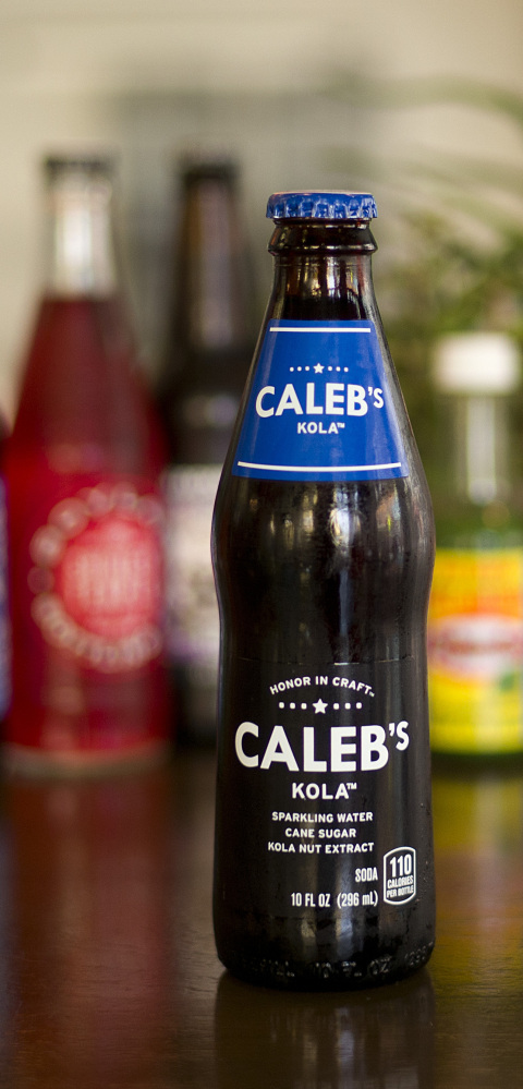 Caleb's Kola, a cane sugar-sweetened soda owned by Pepsi, shows no signs of being attached to a corporate titan. Companies are trying to learn more about changing tastes.