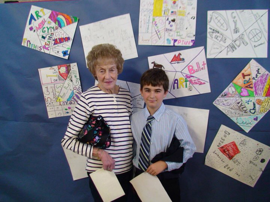 Mary Profenno and her grandson Lucas Profenno taken about four years ago. Family photo