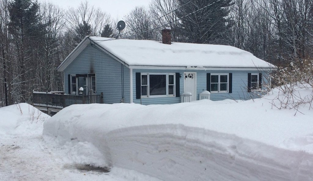 Firefighters quickly extinguished a fire at 44 Targett Road in New Gloucester on Thursday morning.