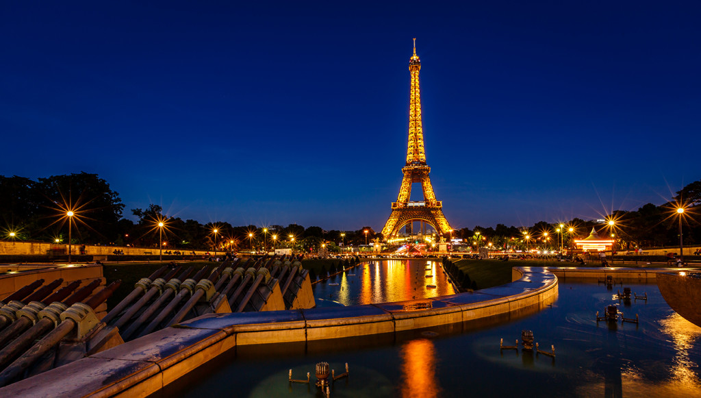 A drone was first spotted above the U.S. Embassy, then one at the Eiffel Tower, and later over the Louvre, the Bastille monument , the Montparnasse tower and the Interior Ministry headquarters. Shutterstock photo