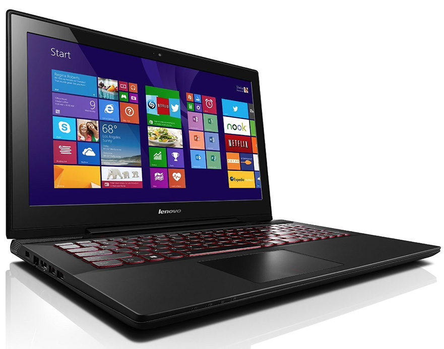 Lenovo's Y50 Touch 4K UHD laptop computer.