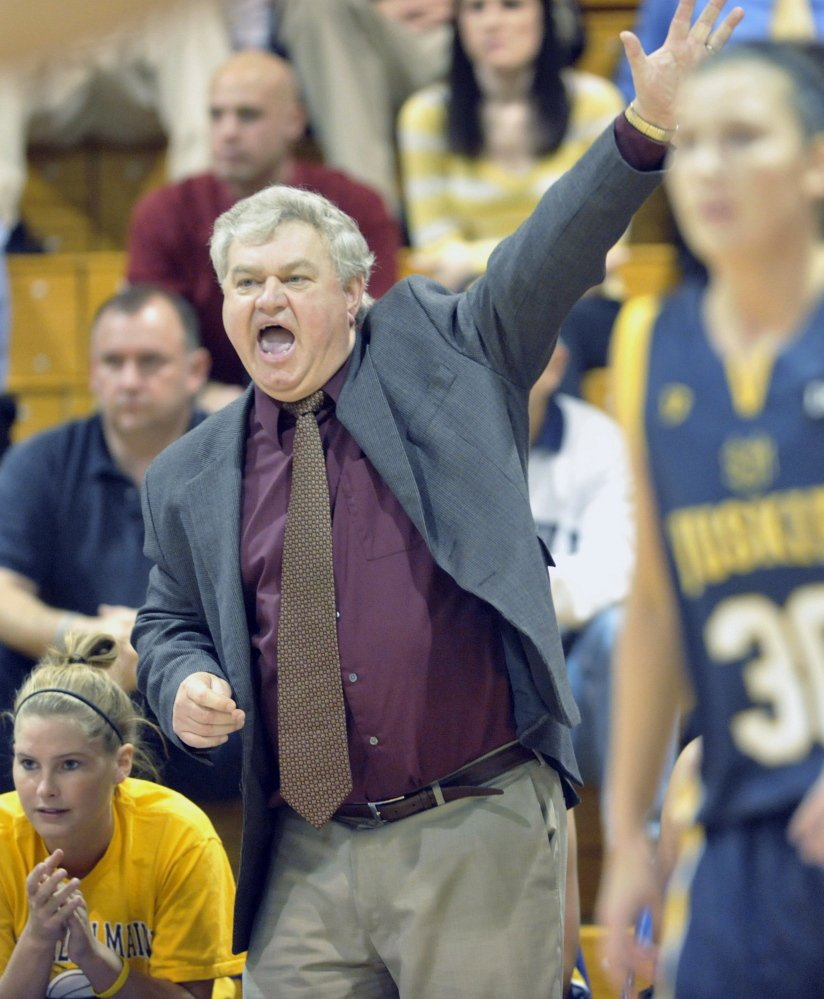 Gary Fifield led his teams to five Final Four appearances. His 660 victories rank sixth all-time among Division III women's hoops coaches.