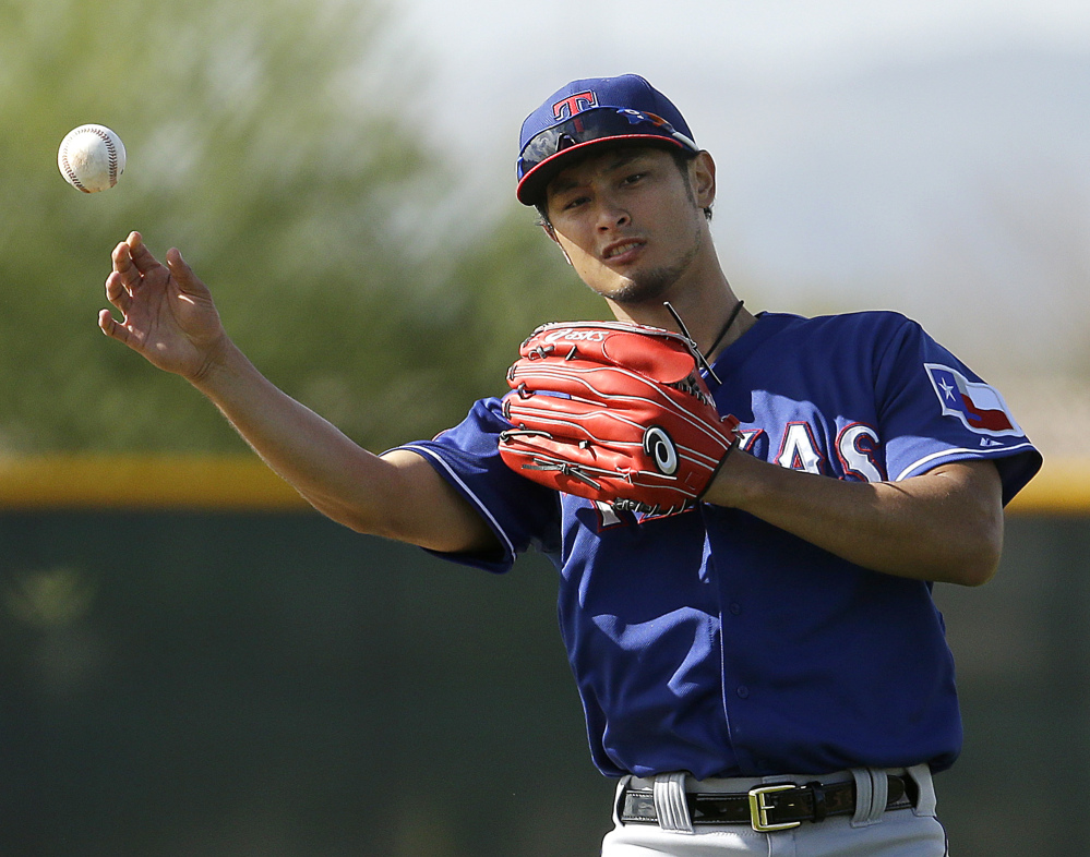 Texas Rangers pitcher Yu Darvish might require season-ending Tommy John surgery after an MRI exam revealed partially torn ligaments in his troublesome right elbow.