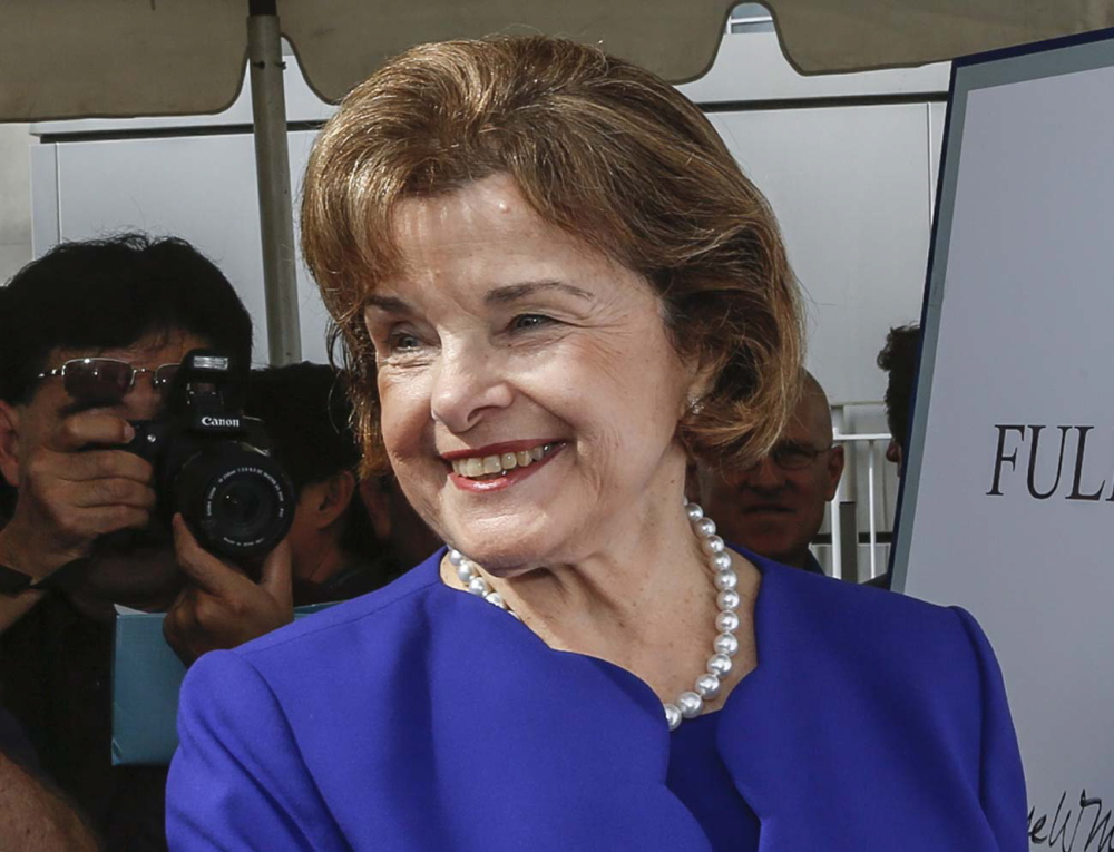 Sen. Dianne Feinstein, D-Calif., says former Secretary of State Hillary Rodham Clinton should fully explain her actions involving the use of a private, nongovernment email account when she was the country's top diplomat.