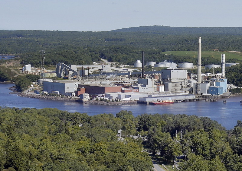 Verso Paper Corp.'s mill in Bucksport closed in December 2014.
