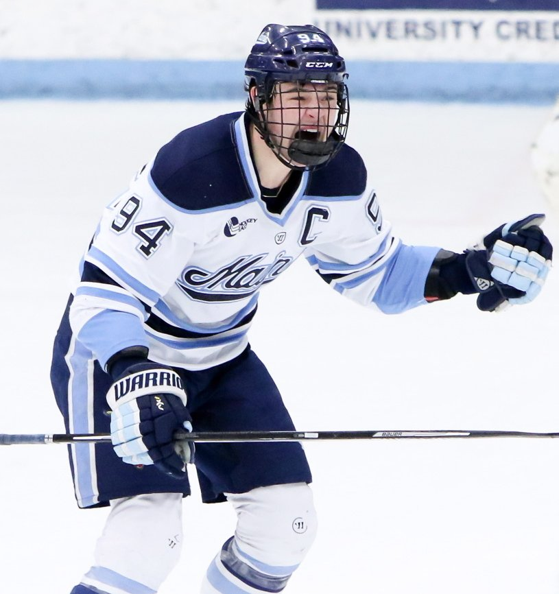 Devin Shore said he'll miss his teammates and the fans in Orono, but leaving the University of Maine means he'll be one step from the NHL as a pro in the AHL.