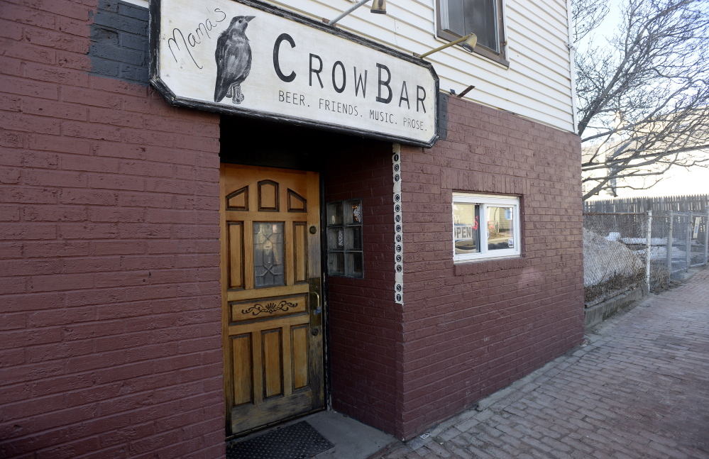 Behind the nondescript door and single, sliding window on the facade of 189 Congress St. is a simple bar with a dozen stools, a jukebox and a 1932 Wurlitzer piano that doubles as a table for four. Mama's CrowBar offered weekly poetry readings for years, and still hosts visiting poets. It holds a bluegrass night, a piano night and a night when it's open to entire families.