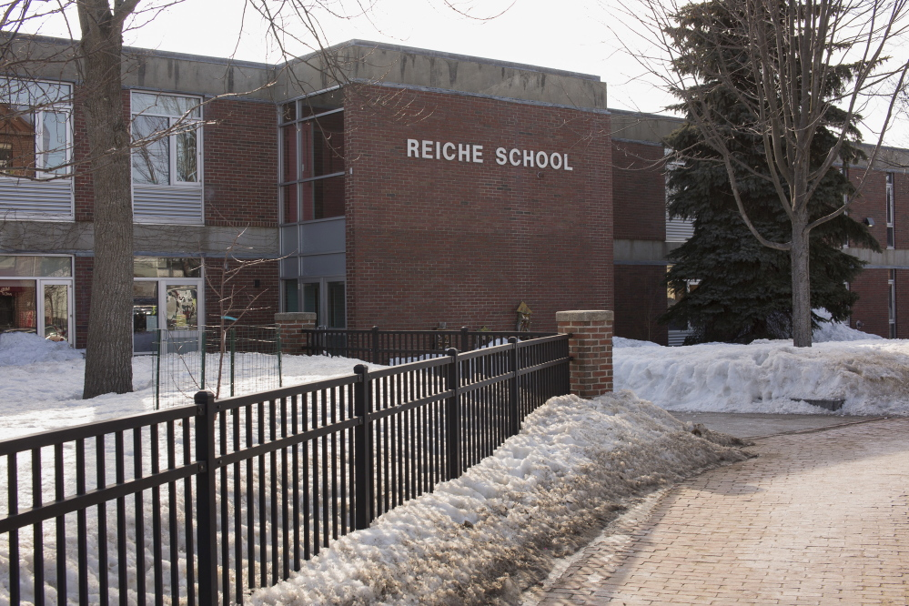 Portland's Reiche Elementary School, seen in March of 2015, would get $17.9 million worth of repairs and improvements under the proposed borrowing plan.