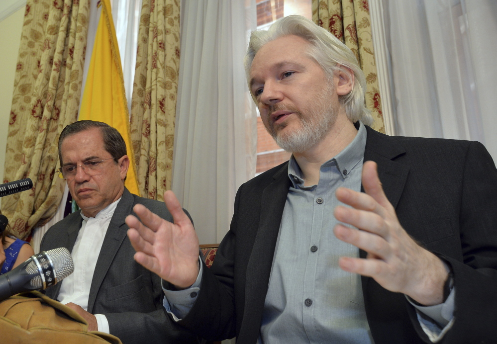 WikiLeaks founder Julian Assange says he will meet with Swedish prosecutors. Assange has been in the Ecuadorean embassy to avoid extradition for almost three years.