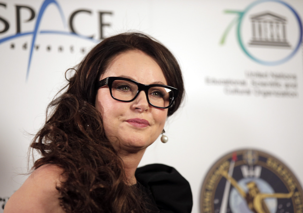 Soprano Sarah Brightman is working with Andrew Lloyd Webber to create a song for a performance on the International Space Station.
