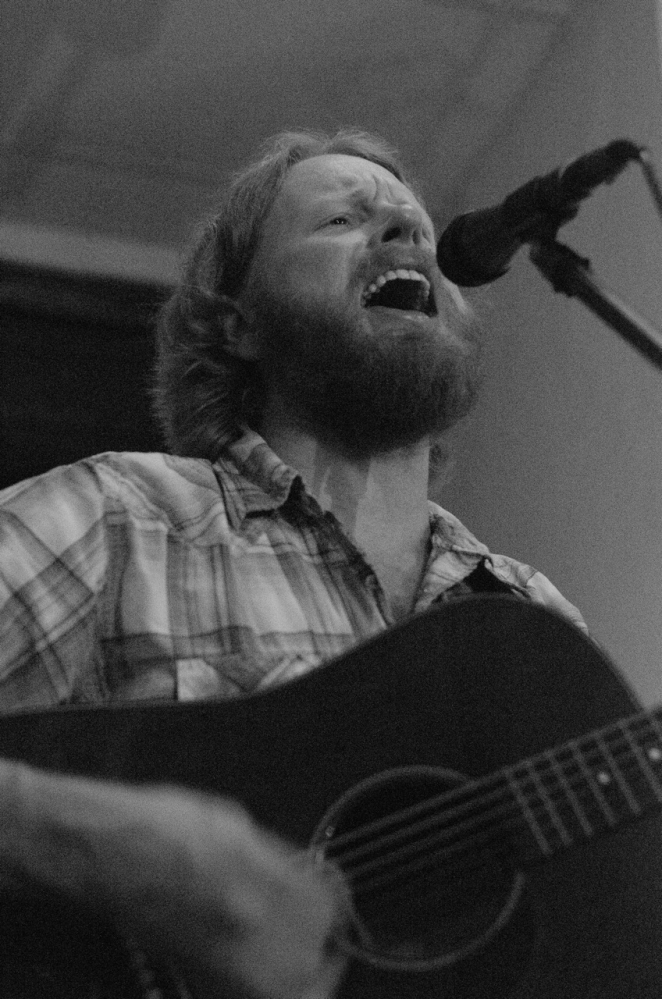 Jason Parish performs Jan. 3 in Philadelphia. Parish died Sunday when a tree fell on him on the Appalachian Trail near Brunswick, Md.
