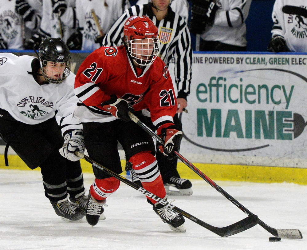 Scarborough's Sami Shoebottom elevated her offensive game this season to keep the Red Storm a contender. She finished with 46 goals and 15 assists.