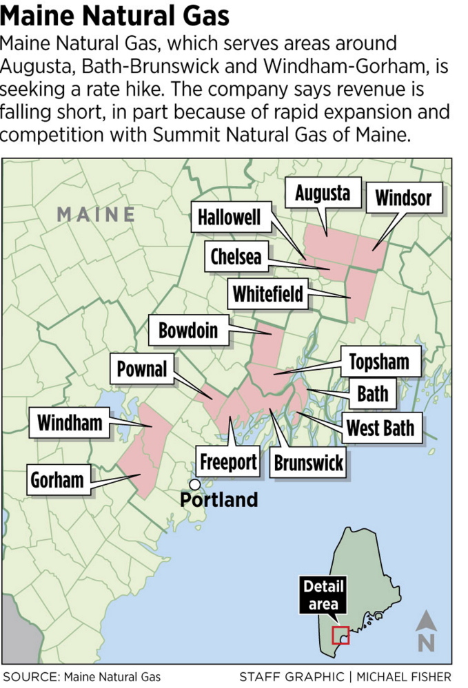 Maine Natural Gas Pipeline Map
