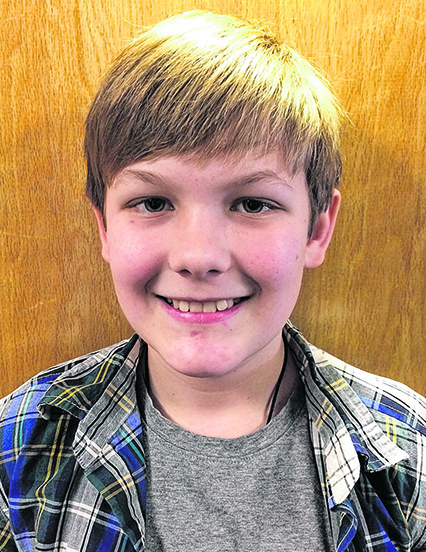 Oxford County champion: Isaiah Hink-Moore, grade 6, Sacopee Valley Middle School, Hiram