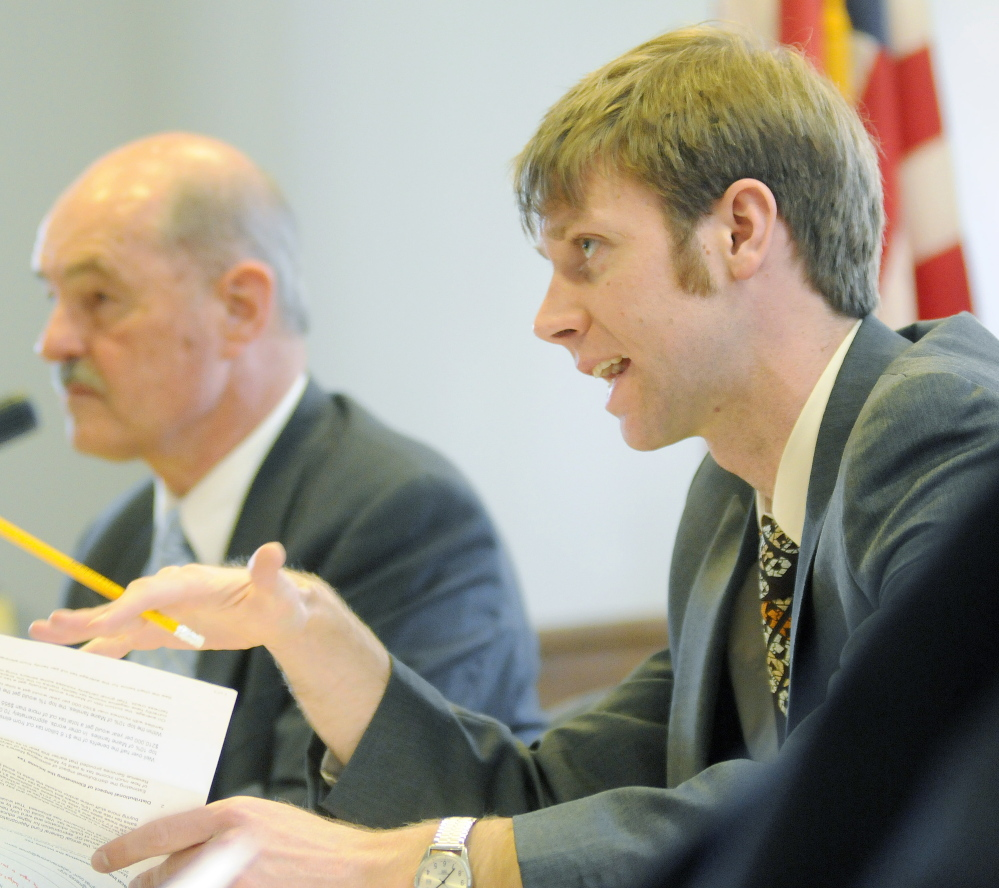 Rep. Adam Goode, D-Bangor, said before Wednesday's vote by the Taxation Committee that,