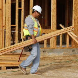 According to the latest jobs data released by the Labor Department on Friday, construction companies added 45,000 jobs in April, the most in 16 months and a sign that cold weather had held back building projects in March.