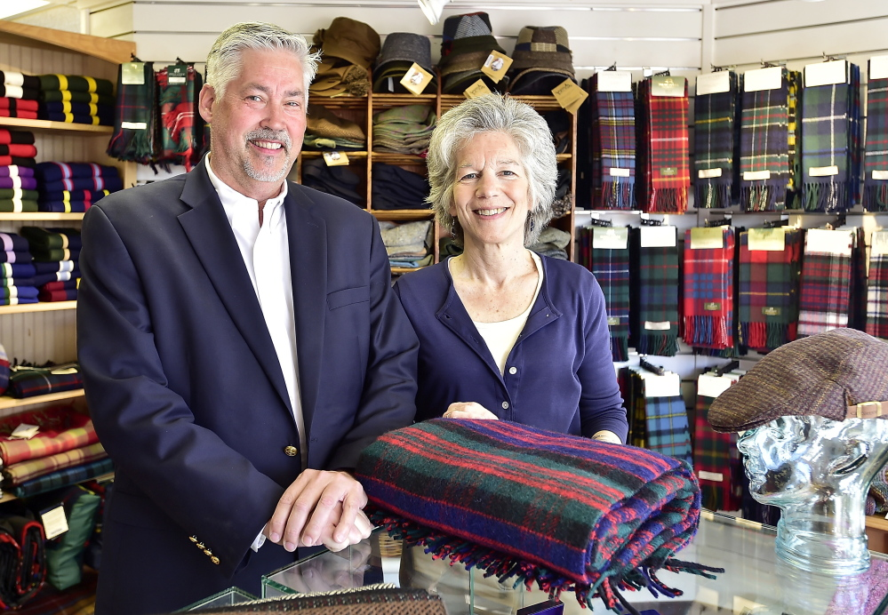 Neither Jay Paulus nor Lisa Bussey had a background in retail, and they may not always have been Anglophiles. But they relish running Bridgham & Cook.