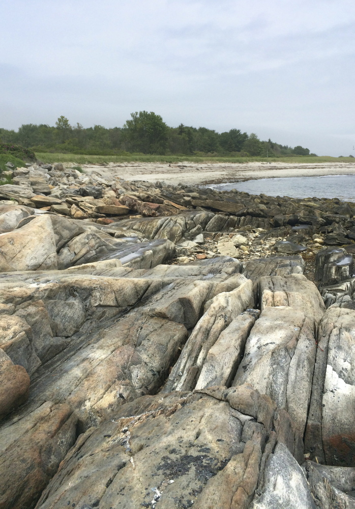 "Andrews Beach is a 3-acre state park. The locals here say on a dry day, the sand ""sings."""